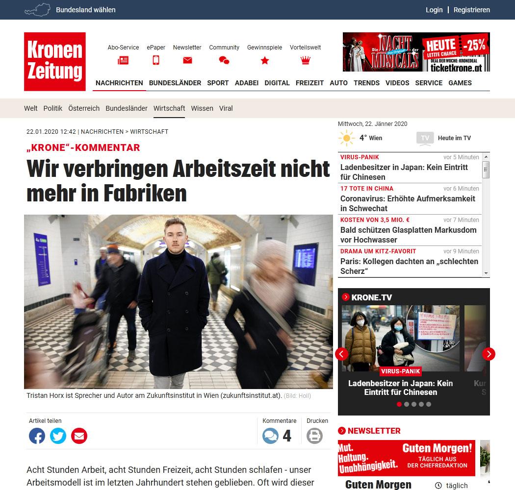 Kronen Zeitung - Influencer